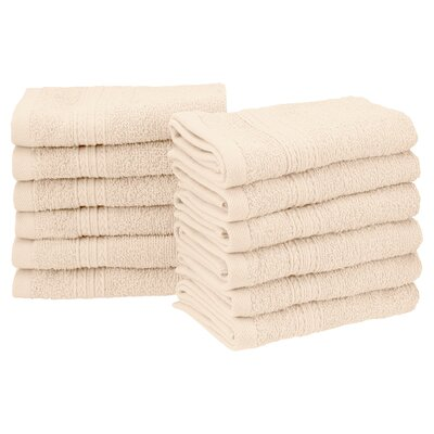 Springfield Washcloth Color: Ivory
