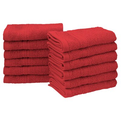 Springfield Washcloth Color: Cranberry