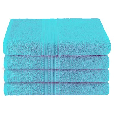 Ankara Bath Towel Color: Turquoise