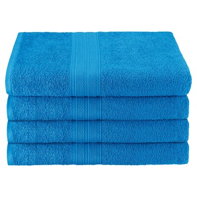 Ankara Bath Towel Color: Aster Blue