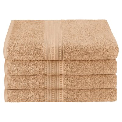Ankara Bath Towel Color: Camel