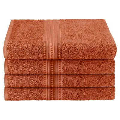 Springfield Bath Towel Color: Copper