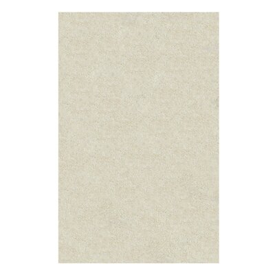 Catharine Hand-Woven Ivory Area Rug Rug Size: 4 x 6