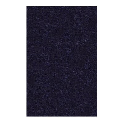 Catharine Hand-Woven Navy Blue Area Rug Rug Size: 4 x 6