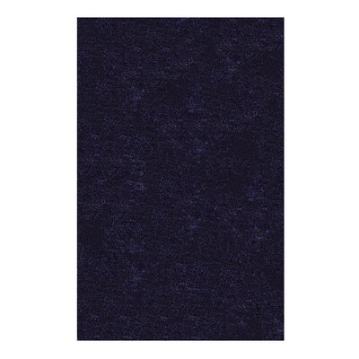 Catharine Hand-Woven Navy Blue Area Rug Rug Size: 8 x 10