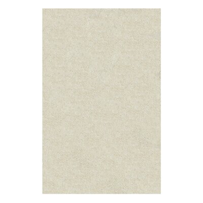 Catharine Hand-Woven Ivory Area Rug Rug Size: 8 x 10
