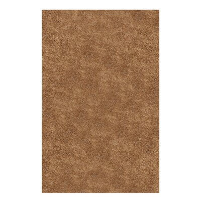 Catharine Hand-Woven Beige Area Rug Rug Size: 4 x 6