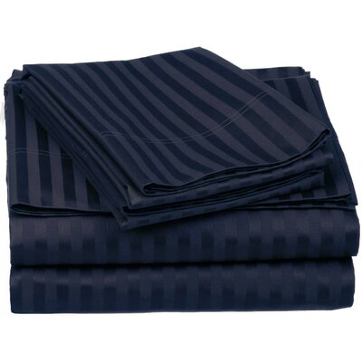 Superior 650 Thread Count 100% Egyptian-Quality Cotton Sheet Set Size: Twin