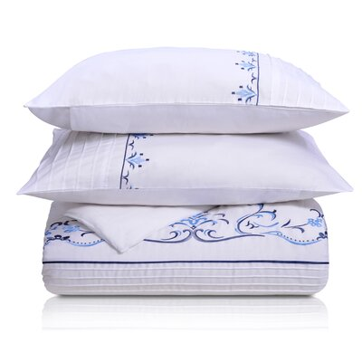Superior Sofia Duvet Cover Set Size: King/California King