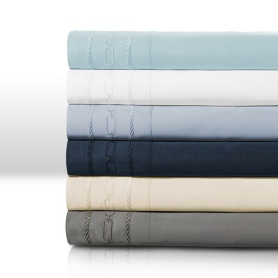 Cullen Pillowcase Size: Standard, Color: Navy Blue