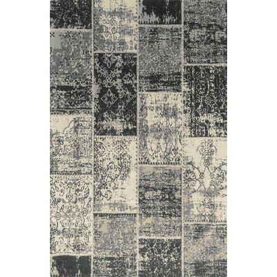 Superior Brighton Black Area Rug Rug Size: 5 x 8