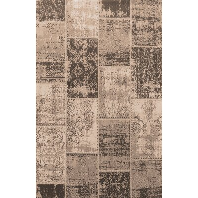 Superior Brighton Brown Area Rug Rug Size: 5 x 8