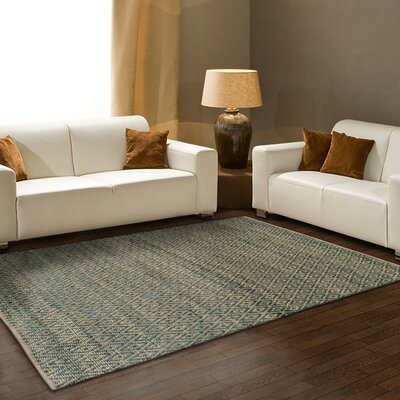 Jennell Hand-Woven Gray Area Rug Rug Size: 8 x 10