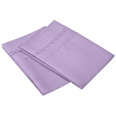 Garrick Solid Clouds Pillowcase Size: Standard, Color: Lilac