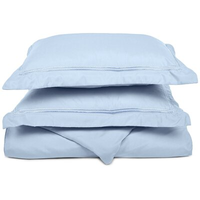 Granger Duvet Set Size: Full / Queen, Color: Light Blue
