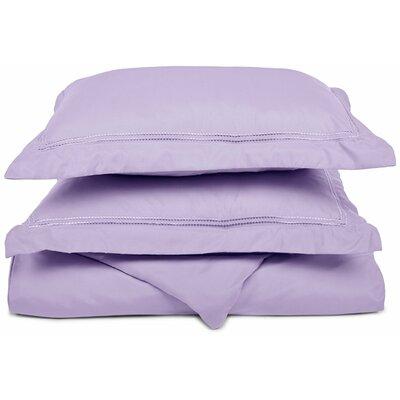 Granger Duvet Set Size: Full / Queen, Color: Lilac