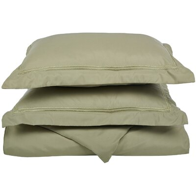 Granger Duvet Set Size: Full / Queen, Color: Sage