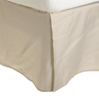 Granger Solid Bed Skirt Size: Twin XL, Color: Ivory