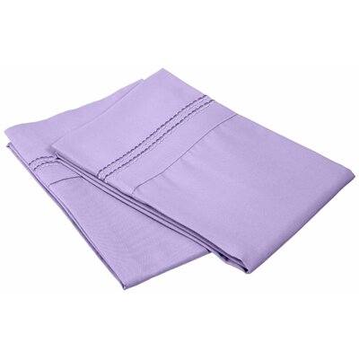 Granger Pillowcase Size: King, Color: Lilac