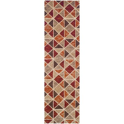 Brickyard Area Rug Rug Size: Runner 2'7