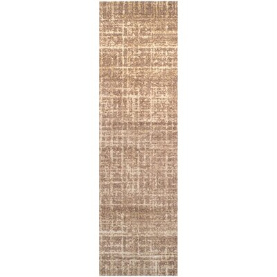 Wheaton Brown Area Rug Rug Size: Runner 27 x 8