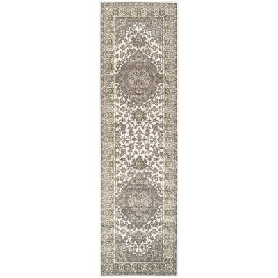 Dixfield Olive Green/Gray Area Rug Rug Size: Runner 23 x 8