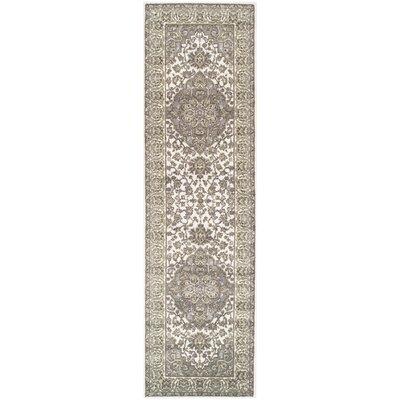 Vassar Olive Green/Gray Area Rug Rug Size: Runner 26 x 8