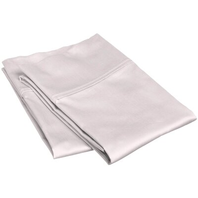 Reece 300 Thread Count  Pillowcase Set Size: King, Color: Lilac