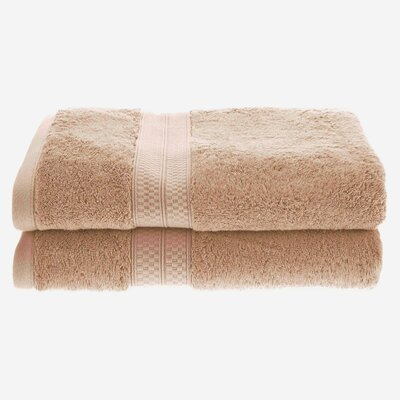 Hyde Rayon Soft and Absorbent Bath Towel Color: Sand