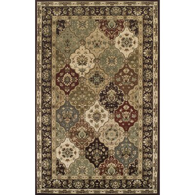 Battershell Brown/Beige Area Rug Rug Size: Rectangle 8 x 10