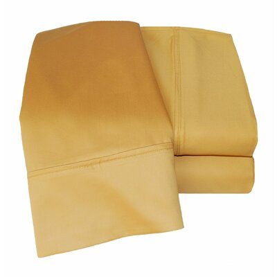 Uinta 1000 Thread Count Wrinkle Resistant Cotton Blend Sheet Set Color: Gold, Size: California King