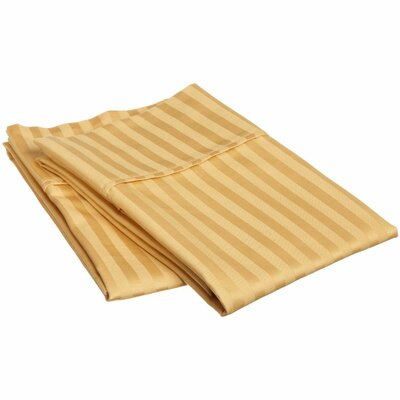 Pillow Case Size: Standard, Color: Gold