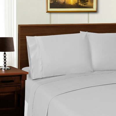 Cullen Retangle Pillowcase Color: Grey, Size: King