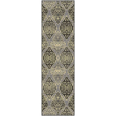 Sheila Rectangle Gray/Beige Area Rug Rug Size: Rectangle 311 x 511