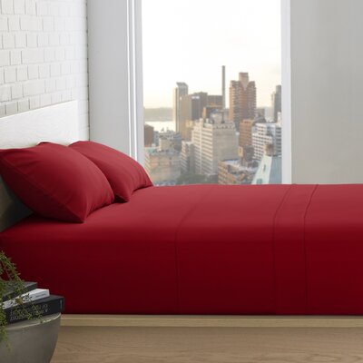 Superior 800 Thread Count 100% Egyptian-Quality Cotton Sheet Set Size: Queen, Color: Burgundy