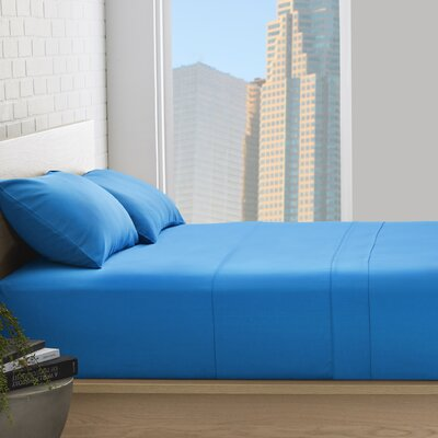 Superior 800 Thread Count 100% Egyptian-Quality Cotton Sheet Set Size: California King, Color: Medium Blue