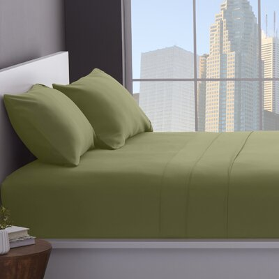 1200 Thread Count Cotton Blend Sheet Set Size: Full, Color: Sage