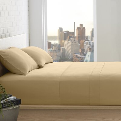 Superior 800 Thread Count 100% Egyptian-Quality Cotton Sheet Set Size: Full, Color: Gold