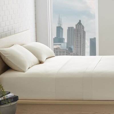 Superior 800 Thread Count 100% Egyptian-Quality Cotton Sheet Set Size: Queen, Color: Ivory