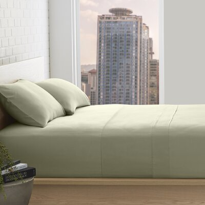 Superior 800 Thread Count 100% Egyptian-Quality Cotton Sheet Set Size: Full, Color: Sage