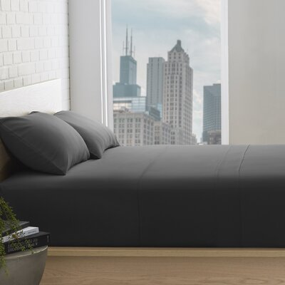 Superior 800 Thread Count 100% Egyptian-Quality Cotton Sheet Set Color: Black, Size: Queen