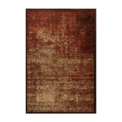 Chamber Red/Beige Area Rug