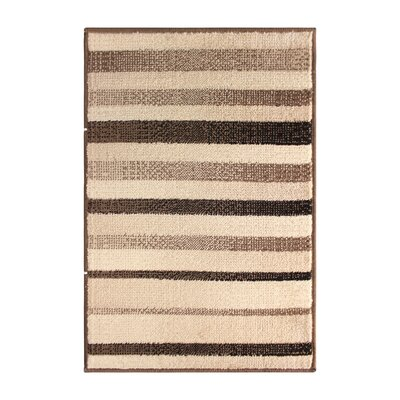 Dalton Brown/Beige Area Rug Rug Size: 5 x 8