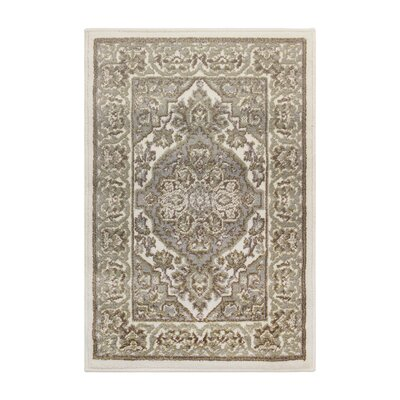 Dixfield Olive Green/Gray Area Rug