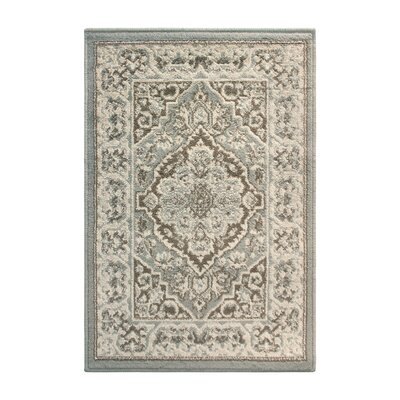 Vassar Gray/Brown Area Rug Rug Size: Rectangle 2 x 3