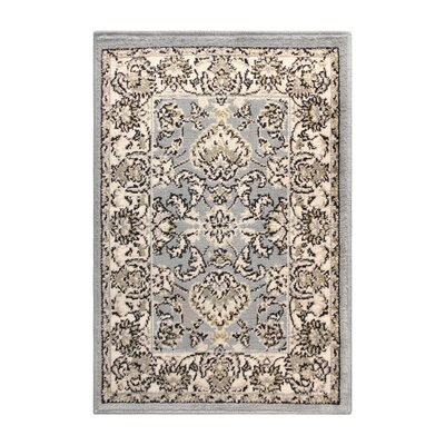Horrell Gray/Beige Area Rug Rug Size: Rectangle 3 x 5