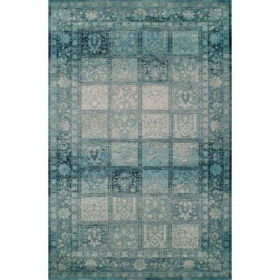 Reanna Teal Area Rug Rug Size: 8 x 10