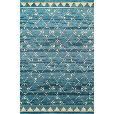 Marelle Blue Area Rug Rug Size: 8 x 10