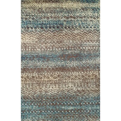 Hopkins Taupe/Ivory Area Rug Rug Size: Rectangle 5 x 8