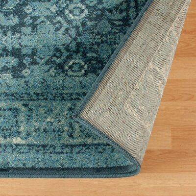 Schuttrange Teal Area Rug Rug Size: Rectangle 5 x 8